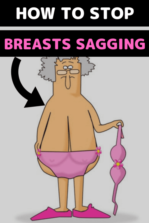 breasts sagging